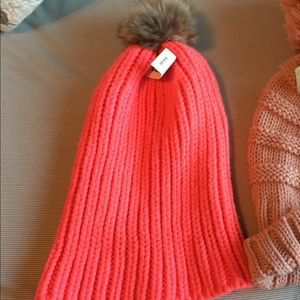 Hot pink old navy slouchy hat